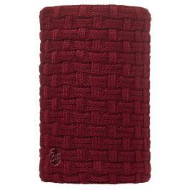 Neckwarmer BUFF Knitted Polar Fleece - Airon Wine  chusty