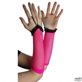 narękawnik POIZEN INDUSTRIES - NLLG Long Fishnet Lace Trim - Pink