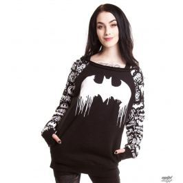 bluza kobiety POIZEN INDUSTRIES - Graffiti - Batman - Black - POI031